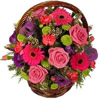 Güller ve kir çiçekleri sevilenlerin çiçegi  Ankara çiçek siparişi sitesi