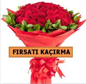 SON 1 GÜN İTHAL BÜYÜKBAŞ GÜL 51 ADET  Ankara hediye sevgilime hediye çiçek