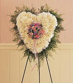 Ankara anneler günü çiçek yolla  kalp pano beyaz karanfillerden