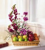 Ankara yurtiçi ve yurtdışı çiçek siparişi  çiçek ve meyve sepeti