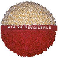 arma anitkabire - mozele için  Ankara İnternetten çiçek siparişi