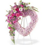 kalp içerisinde mevsim çiçekleri   Ankara çiçek mağazası , çiçekçi adresleri