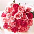 11 adet renkli gül buketi   Ankara internetten çiçek siparişi