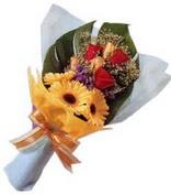 güller ve gerbera çiçekleri   Ankara İnternetten çiçek siparişi