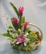 mevsim meyvalari ve sepet   Ankara çiçek gönderme