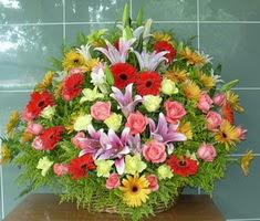 devasa bir mevsim sepeti  Ankara güvenli kaliteli hızlı çiçek