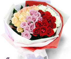 SEVENLERE ÖZEL 51 ADET GÜL  Ankara hediye sevgilime hediye çiçek
