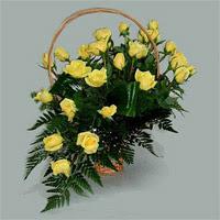 12 adet sari gül sicak sevgiye inananlara  Ankara çiçek siparişi vermek