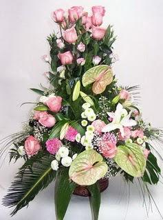 Ankara çiçek satışı  özel üstü süper aranjman