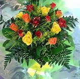 13 adet karisik gül buketi demeti   Ankara online çiçekçi , çiçek siparişi