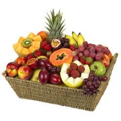 Karisik meyva sepeti  Ankara yurtiçi ve yurtdışı çiçek siparişi