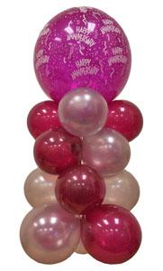 Sevdiklerinize 17 adet uçan balon demeti yollayin   Ankaraya çiçek yolla
