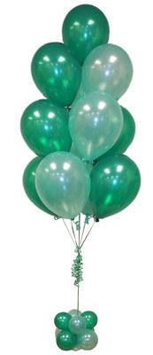 Sevdiklerinize 17 adet uçan balon demeti yollayin.   Ankara çiçek , çiçekçi , çiçekçilik