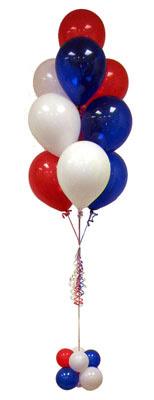 Sevdiklerinize 17 adet uçan balon demeti yollayin.    Ankara ucuz çiçek gönder