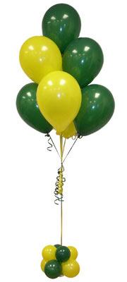 Sevdiklerinize 17 adet uçan balon demeti yollayin.   Ankara çiçek satışı