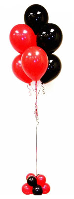 Sevdiklerinize 17 adet uçan balon demeti yollayin.   Ankara hediye çiçek yolla