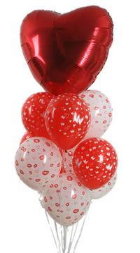Sevdiklerinize 17 adet uçan balon demeti yollayin.   Ankara anneler günü çiçek yolla
