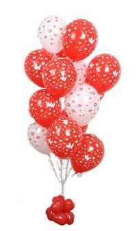 Sevdiklerinize 17 adet uçan balon demeti yollayin.  Ankara hediye sevgilime hediye çiçek