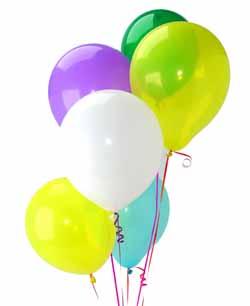 Ankarada çiçek gönderme sitemiz güvenlidir  Sevdiklerinize 17 adet uçan balon demeti yollayin.