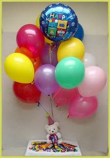 Ankara 14 şubat sevgililer günü çiçek  Sevdiklerinize 17 adet uçan balon demeti yollayin.