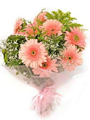 Ankara çiçek , çiçekçi , çiçekçilik  11 adet gerbera çiçegi buketi