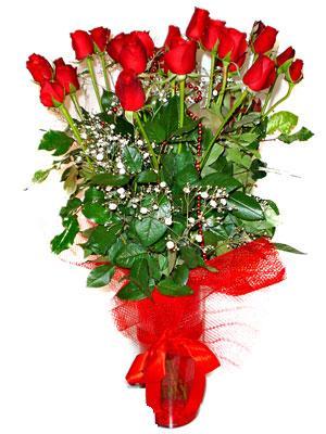 Ankara kaliteli taze ve ucuz çiçekler  Çiçek gönder 11 adet kirmizi gül