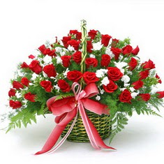 Ankara çiçek , çiçekçi , çiçekçilik  33 adet kirmizi gül - etkilemek artik çok kolay