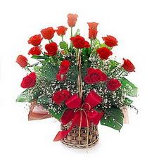 Ankara online çiçek gönderme sipariş  saygi duyanlara 12 adet kirmizi gül