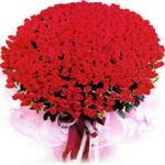 Ankara uluslararası çiçek gönderme  1001 adet kirmizi gülden çiçek tanzimi