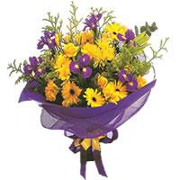 Ankara İnternetten çiçek siparişi  Karisik mevsim demeti karisik çiçekler