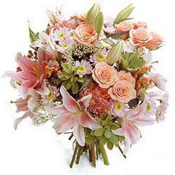 Ankara İnternetten çiçek siparişi  Karisik kir çiçeklerinden görsel demet