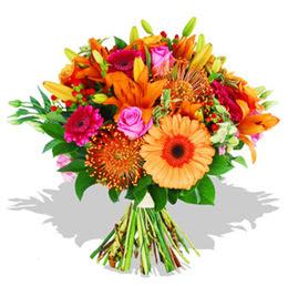 Ankaraya çiçek yolla  Karisik kir çiçeklerinden görsel demet