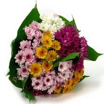 Ankaraya çiçek yolla  Karisik kir çiçekleri demeti herkeze