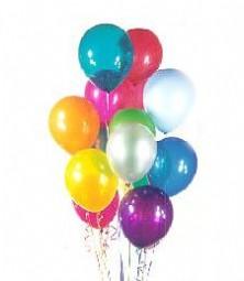 Ankara çiçek , çiçekçi , çiçekçilik  19 adet karisik renkte balonlar