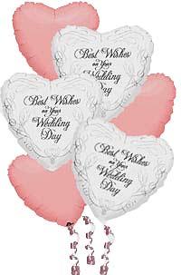 Ankara hediye sevgilime hediye çiçek  19 adet kalp görüntülü sevgi balonlari