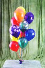 Ankara güvenli kaliteli hızlı çiçek  19 adet uçan balon demeti balonlar