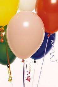 Ankara hediye çiçek yolla  19 adet renklis latex uçan balon buketi