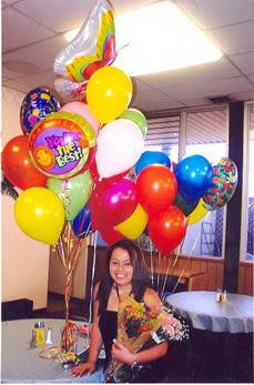 Ankara hediye sevgilime hediye çiçek  49 adet karisik renkte uçan balonlar buketi