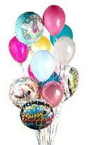 Ankara kaliteli taze ve ucuz çiçekler  görsel kaliteli 17 uçan balon buketi tanzimleri