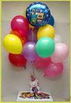 Ankara çiçek siparişi sitesi  25 adet uçan balon ve 1 kutu çikolata hediye