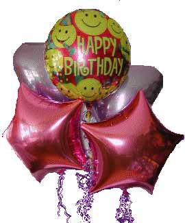 Ankara online çiçek gönderme sipariş  11 adet renkli uçan balon hediye ürünü
