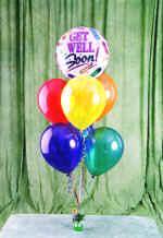 Ankara çiçek yolla , çiçek gönder , çiçekçi   18 adet renkli uçan balon hediye ürünü balon