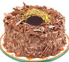 çikolatali 4 ile 6 kisilik yas pasta  Ankara internetten çiçek siparişi