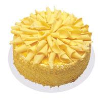 Muzlu pasta 4 ile 6 kisilik yas pasta  Ankaraya çiçek yolla