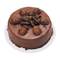 Kestaneli çikolatali yas pasta  Ankara ucuz çiçek gönder