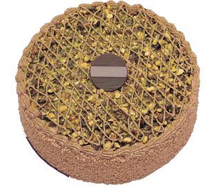 Krokanli 4 ile 6 kisilik yas pasta leziz  Ankara çiçekçi telefonları