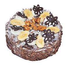 Muzlu çikolatali yas pasta 4 ile 6 kisilik   Ankara online çiçekçi , çiçek siparişi