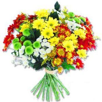 Kir çiçeklerinden buket modeli  Ankara kaliteli taze ve ucuz çiçekler