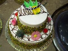 2 katli yaspasta 6 ile 8 kisilik pasta  Ankara çiçek servisi , çiçekçi adresleri