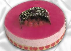 pasta siparisi 4 ile 6 kisilik yas pasta framboaz yaspasta  Ankara cicek , cicekci